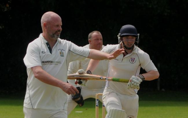 Tenbury Wells bowler Nigel Payne took three wickets against Five Ways