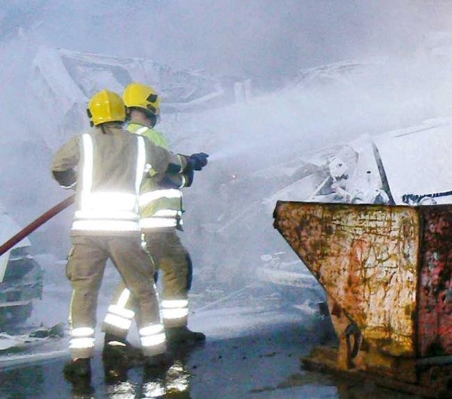 Firefighters could strike over work conditions