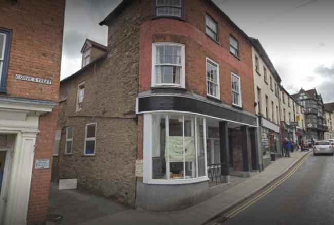 The burglars struck in Corve Street in Ludlow. Photo: Google.