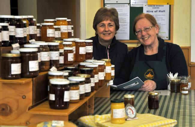Jams, marmalades, chutney, pickles amd jellies along with many other types of fresh local produce at Ludlow Country Market. The market is held every Saturday from 9am until 12 noon at the Women's Centre just off Church Street. Reading through a recipe