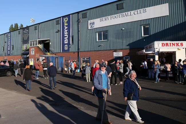 Bury's game against Gillingham on Saturday is their fourth fixture to be suspended