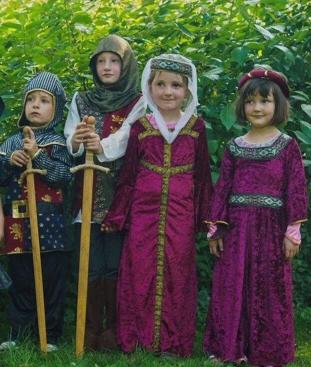 Youngsters will have the chance to dress up as Norman knights and ladies during the open day on September 14.