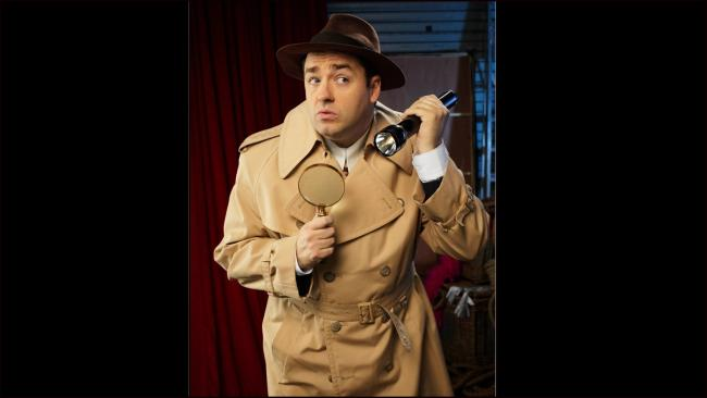 Stand-up sleuth Jason Manford is on the case in Curtains. Picture: Facebook/ Curtains The Musical