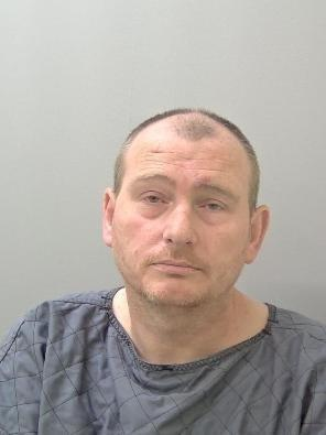 Roger Morse has been jailed after assaulting hospital security guards. Photo: West Mercia Police.
