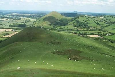 The walk will take in the glorious views of the Shropshire Hills Area