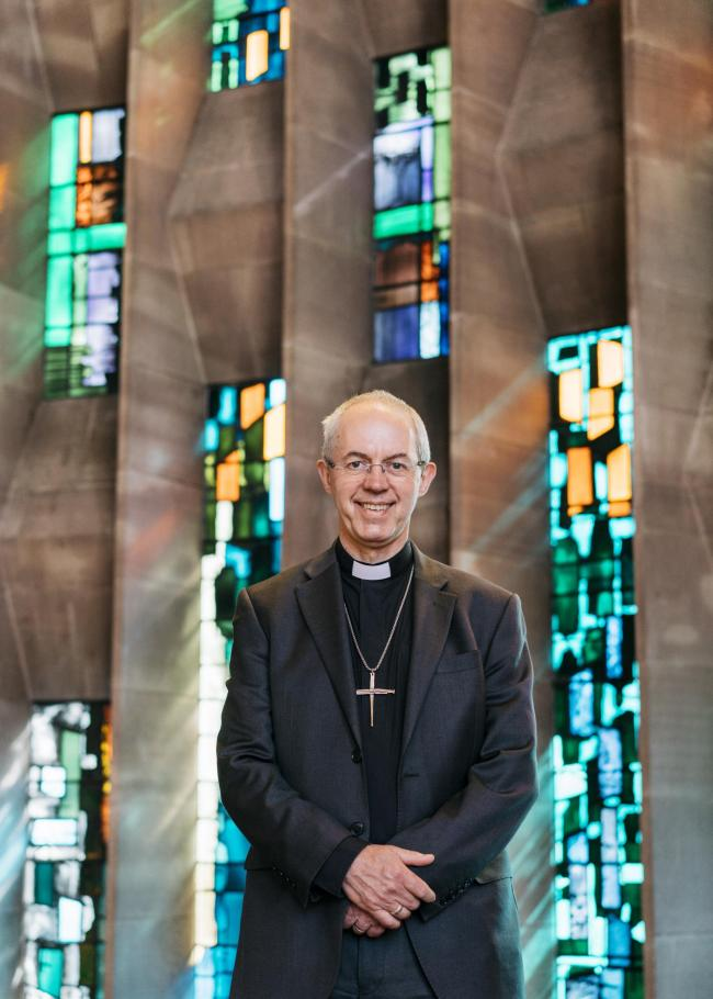 The Archbishop of Canterbury Justin Welby will visit Herefordshire later this month. Photo: Jacqui J. Sze