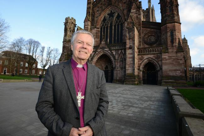 The Bishop of Hereford, The Right Reverend Richard Frith, retires on November 30.