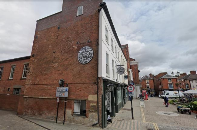 Pizza Express has a restaurant in Ludlow. Photo: Google