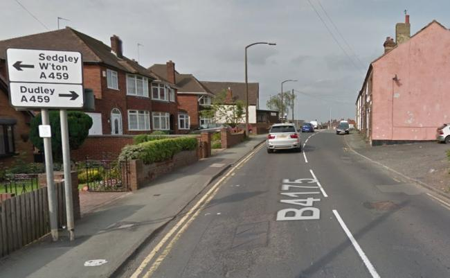 Jews Lane in Upper Gornal has been made one-way in a northbound direction. Image: Google Maps.