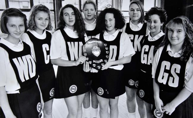 NETBALL: Today's Worcester News nostalgia photo sees members of the Nunnery Wood High School under-14s netball team in 1991. Recognise anyone?