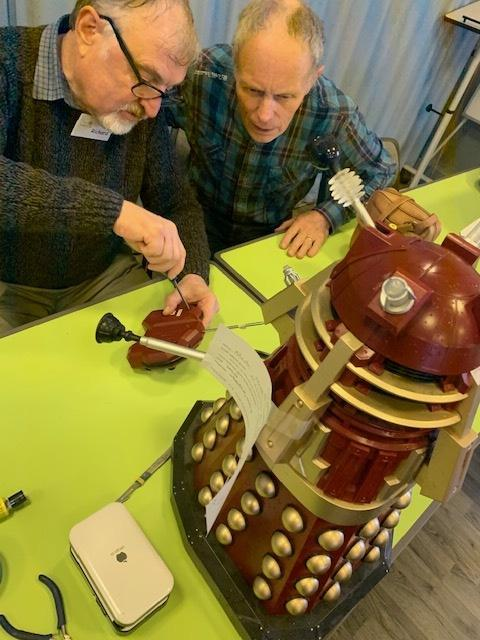 Dalek for repair