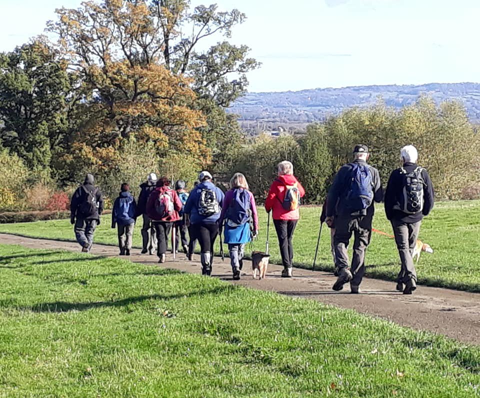 Severn Valley walk from Grimley with Evesham Ramblers