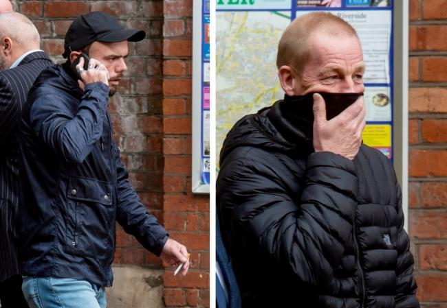 George Powell and Layton Davies have been sentenced after they stole a coin hoard worth £3 million. Photo: Adam Hughes  / SWNS