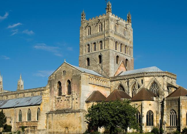 VENUE: Tewkesbury Abbey.