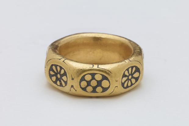 Ludlow Advertiser: A ring from the Leominster Hoard