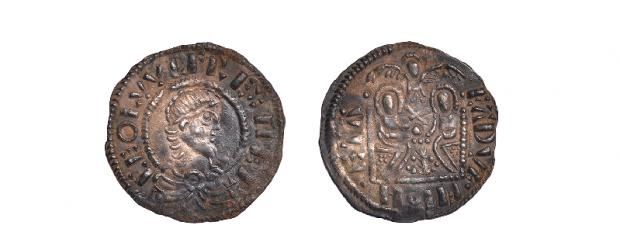 Ludlow Advertiser: Coins from the Leominster Hoard