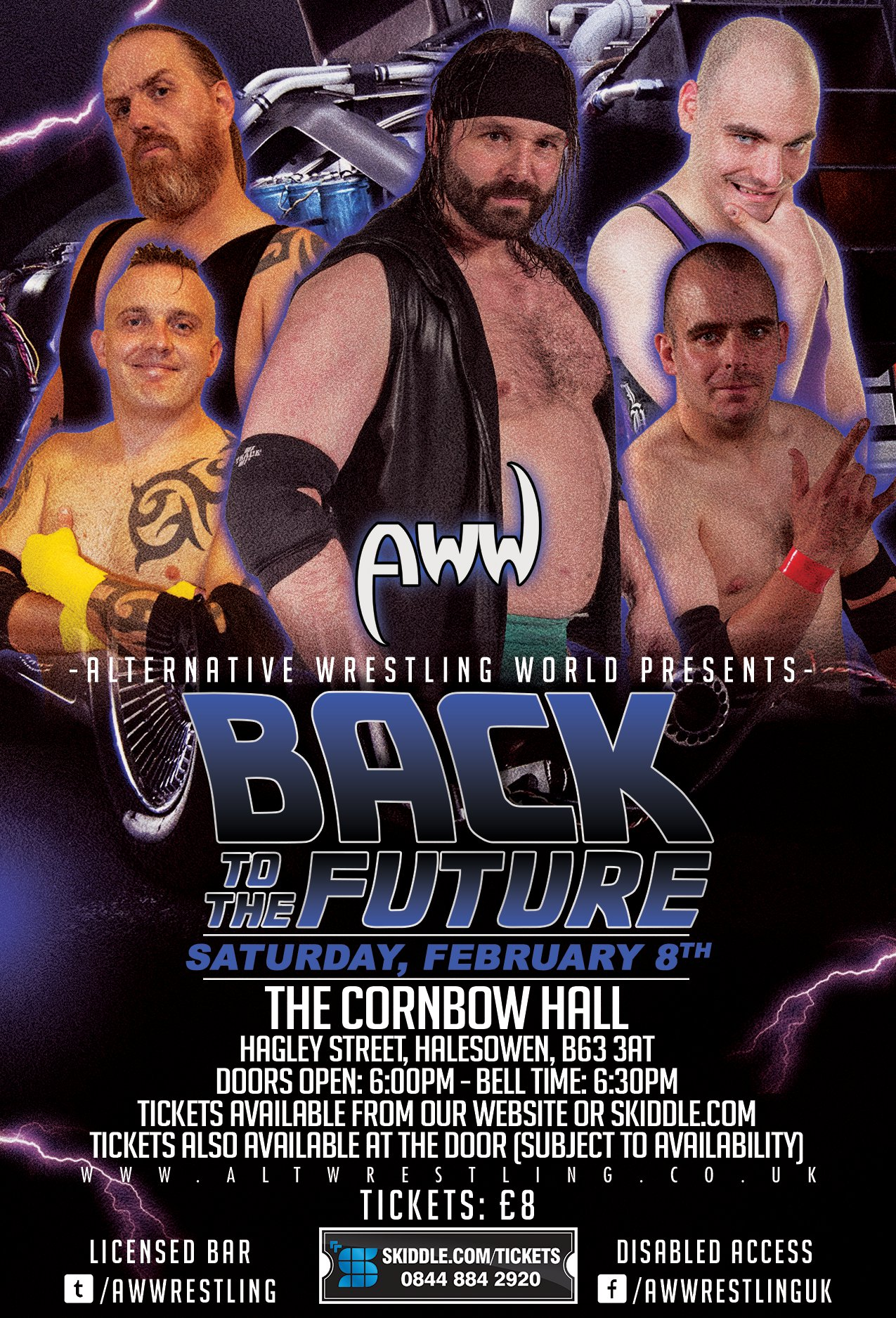 AWW Wrestling - Back To The Future