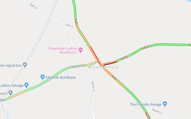 Ludlow Advertiser: Delays are expected at Woofferton. Photo: Google