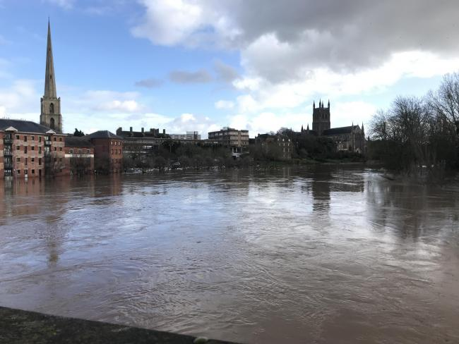 Worcester Floods February 17th 2020