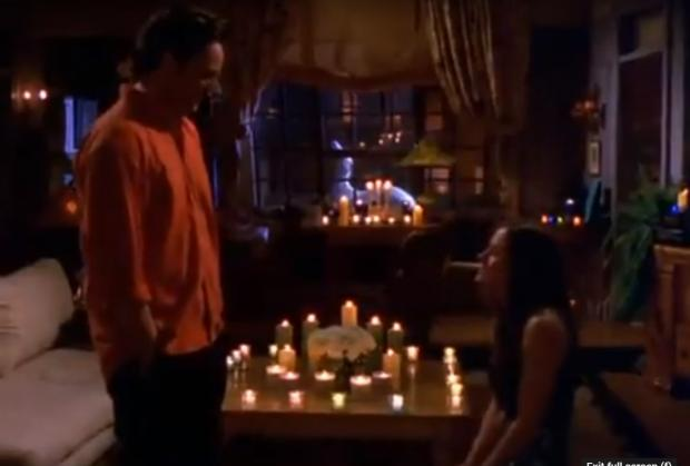 Ludlow Advertiser: Monica proposes to Chandler in Friends. Credit: Youtube