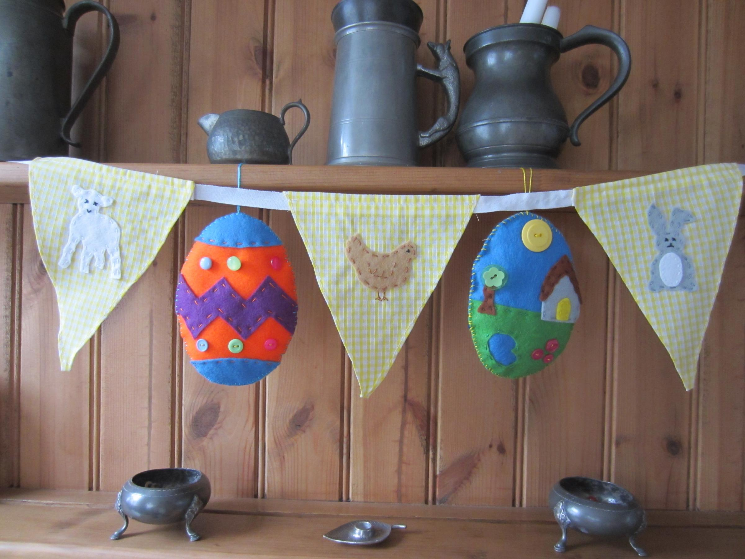 Easter Eggs and Bunting