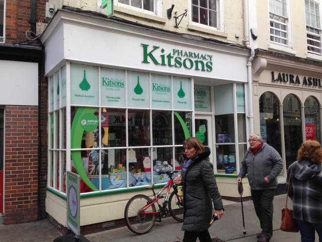 ABUSE: Staff at Kitsons Pharmacy in Worcester have been the victims of online abuse