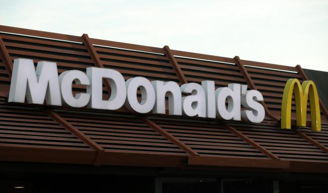 McDonald's reveals limited menu ahead of 'delivery-only' launch. Picture: PA Wire