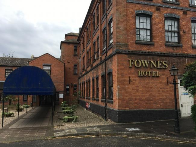 HOME: The Fownes Hotel has been home to rough sleepers during the crisis