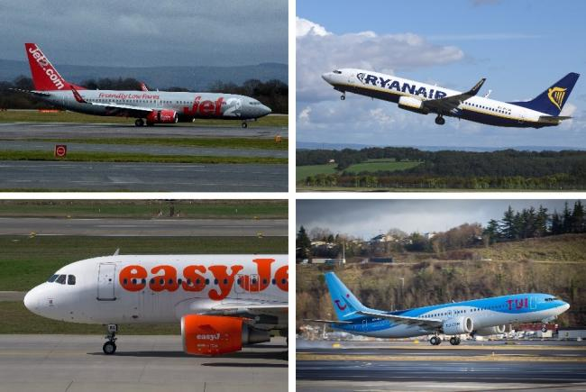 Latest updates from easyJet, Jet2, Ryanair and TUI on when flights will restart. Picture: Newsquest