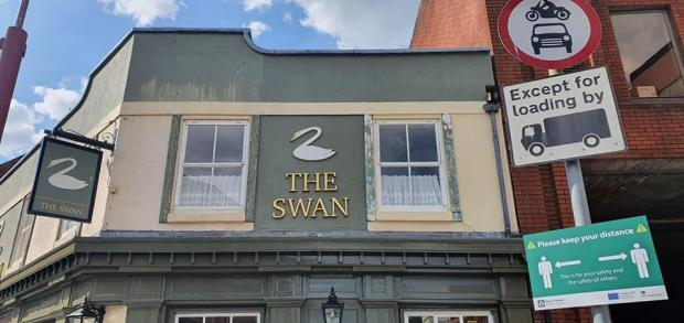 Ludlow Advertiser: The Swan owners have decided to walk away from the business after 12 years