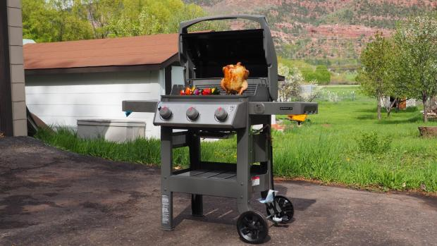 Ludlow Advertiser: The Weber Spirit II E-310 remains the best gas BBQ we've tested. Credit: Reviewed