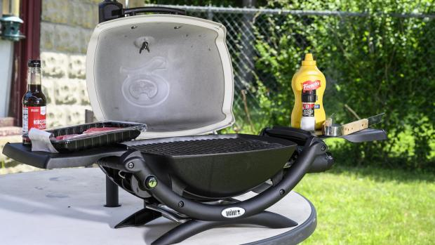 Ludlow Advertiser: The Weber Q is a well-made, versatile portable gas BBQ. Credit: Reviewed / Betsey Goldwasser