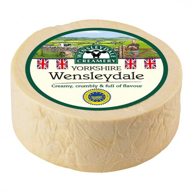 Ludlow Advertiser: Wensleydale cheese. Picture credit: Wensleydale Creamery