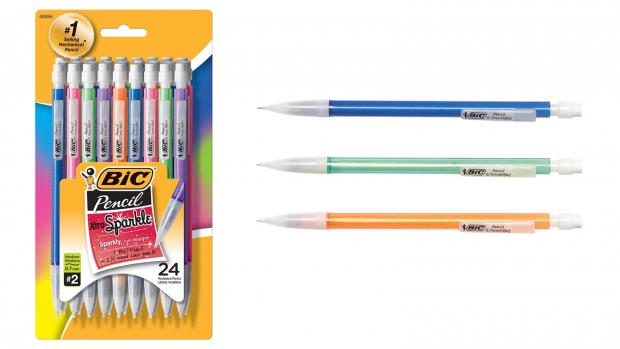 Ludlow Advertiser: A fun pencil means a good test, right? Credit: BIC