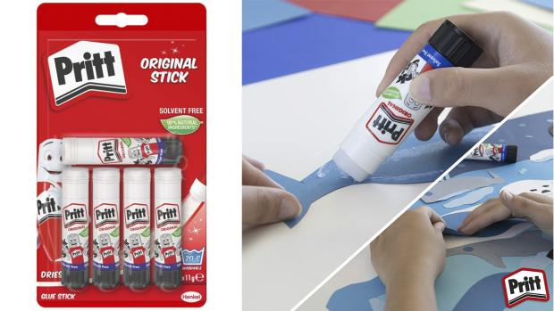 Ludlow Advertiser: Don't worry. These glue sticks are washable. Credit: Pritt