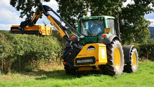 Ludlow Advertiser: McConnel power arm hedge cutter 85-Series