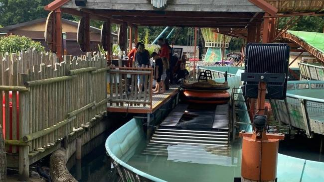 RE-OPEN: The Wild River Rafting ride is now open after four injured