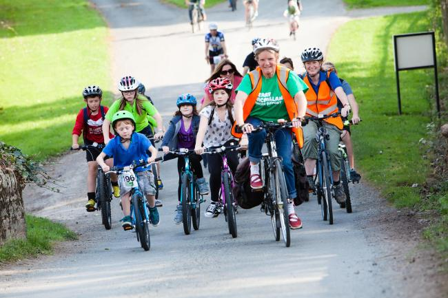 Ludlow Cycling Festival attracted people from all over the country. Photo: Richard Wilkinson.