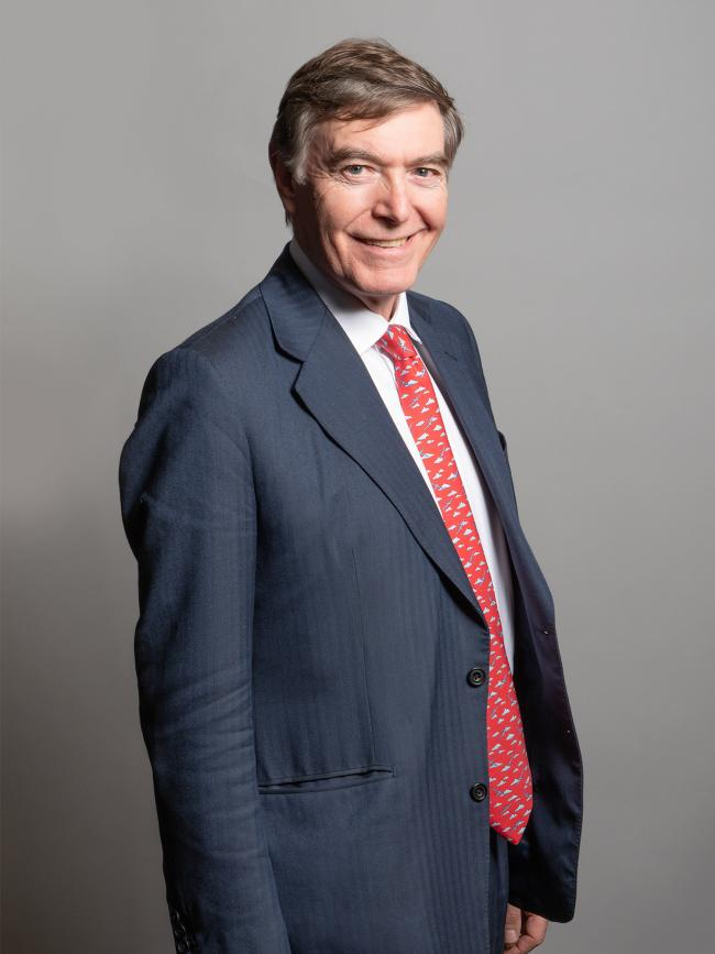 Conservative MP for Ludlow Philip Dunne. Picture by Richard Townshend.