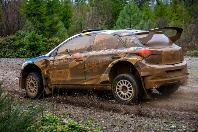 Josh McErlean together with his Herefordshire Co driver Keaton Williams took a superb 3rd overall and 1st in RC2 class on last weekends Olympus Rally based near Seattle in the USA.
