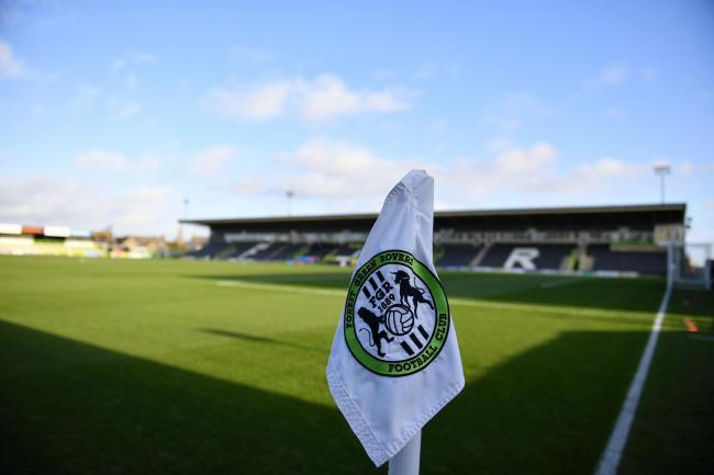 General view of Forest Green Rovers' ground