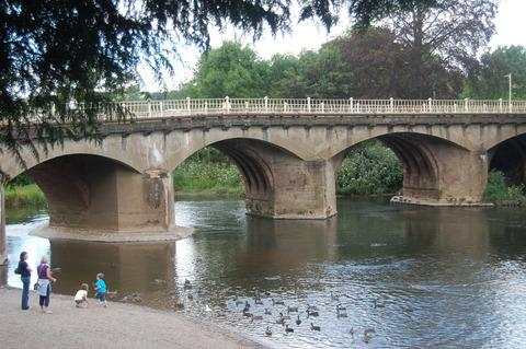 Tenbury's bridge is open after nine weeks.