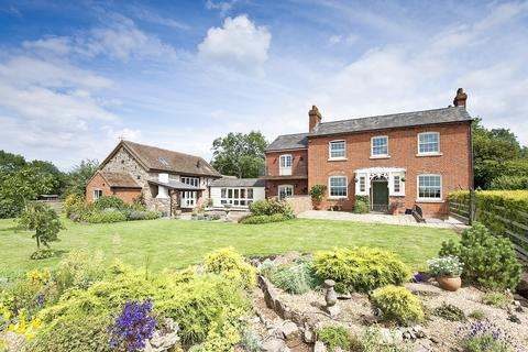 Period property set in 14acres of grounds in Hanley Childe, Tenbury Wells