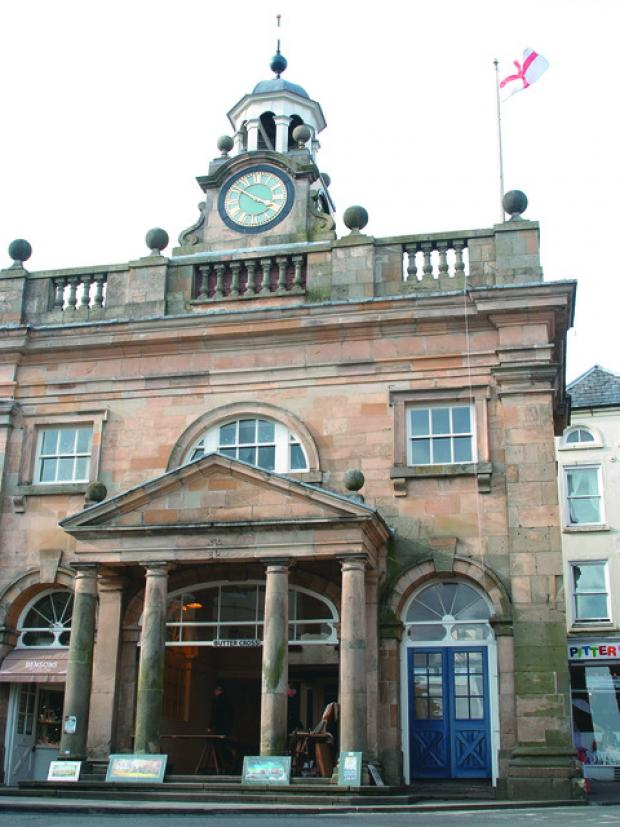 Ludlow has over 500 listed buildings, including the Buttercross.