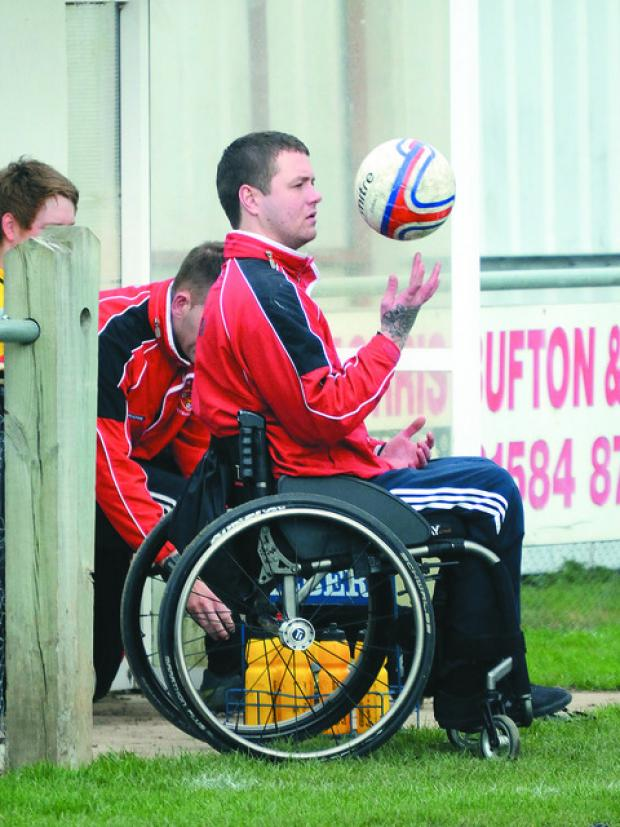 Assistant manager at Ludlow Town talks about getting back into football after horrific car injury