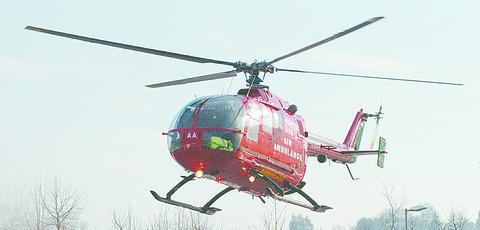 Should the Air Ambulance be paying duty on fuel?