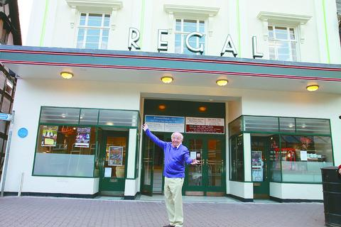 Chris Davis, agent to stars such as Paul Daniels (pictured), will support Bobby Crush in a show to help further improvements to be made at The Regal in Tenbury.