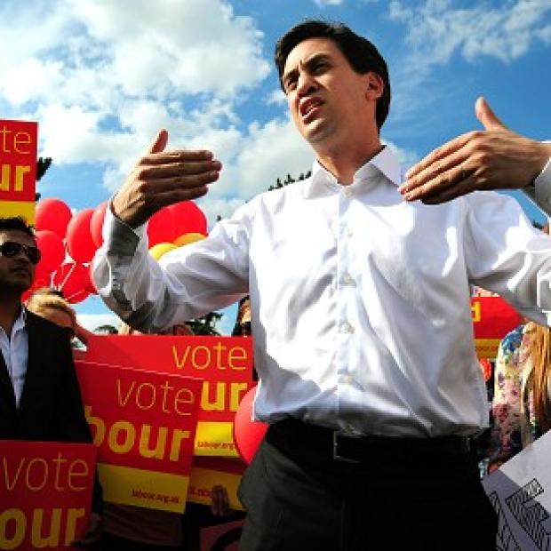 Ludlow Advertiser: Ed Miliband is campaigning for John O'Farrell, Labour's candidate in the Eastleigh by-election