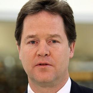 Nick Clegg denied orchestrating a cover-up over allegations of sexual harassment surrounding a former Liberal Democrat strategist