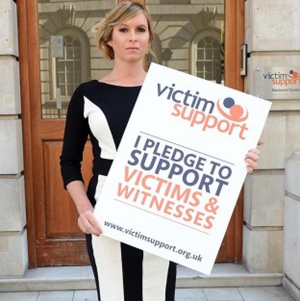 Brooke Kinsella has become an ambassador for Victim Support
